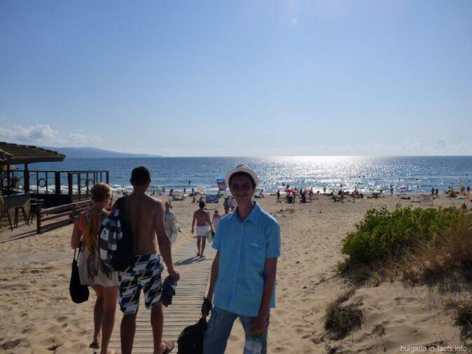 Путь к пляжам Солнечного берега