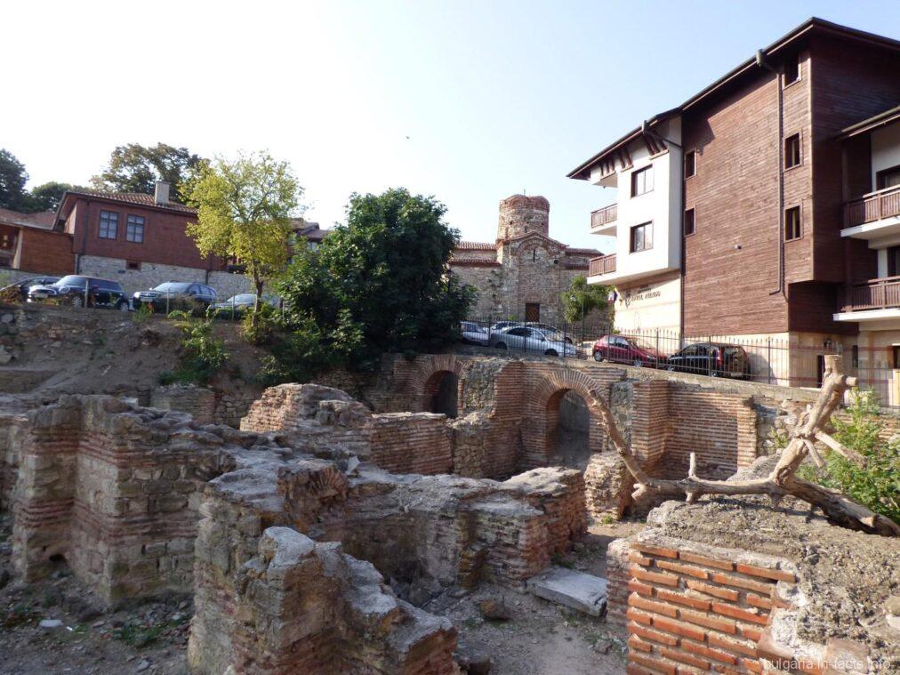 Развалины ранневизантийских терм