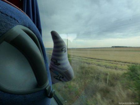Румуния сквозь окно автобуса