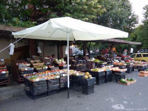 Рынок в Несебре