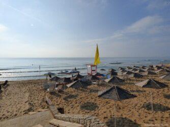 Спуск к морю на Песчаных Дюнах в Несебре