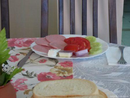 Среднестатистический завтрак в гостинице
