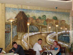 Стилизированный ресторан Несебра