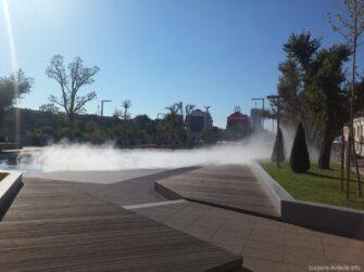 Странный фонтан