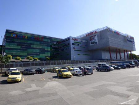 Супермаркет Grand Mall рядом с автостанцией