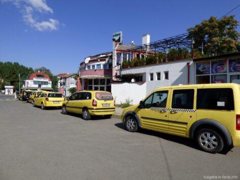 Такси на Солнечном береге