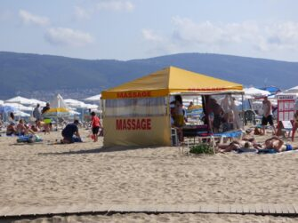 Услуги на пляже Солнечного берега