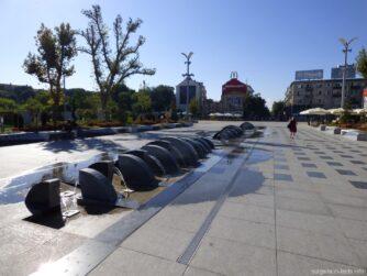 Утренний центр города Бургас