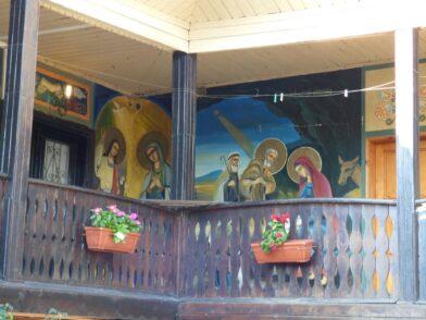 Фрески в монастыре Поморье