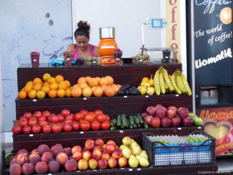 Фрукты и овощи на Солнечном береге