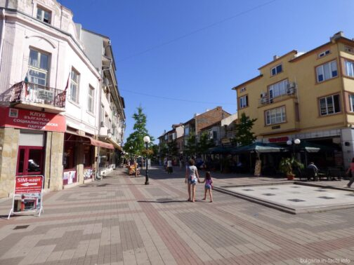 Центральная улица старого Помория