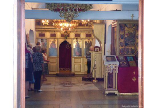 Церковная служба в Поморие