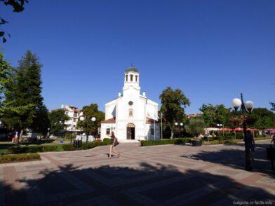 Церковь на улице Князя Бориса