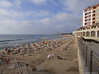 Частные пляжи отелей в Несебре