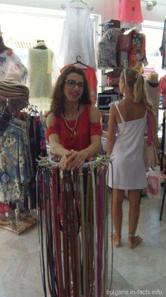 Яна - хозяйка магазина Ванини