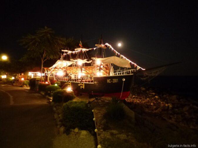 Корабль ресторан в Болгарии