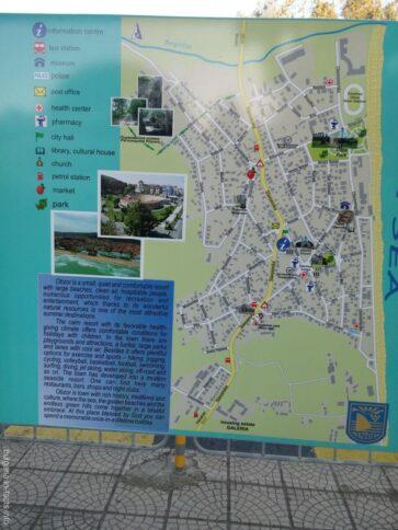 План города Обзор