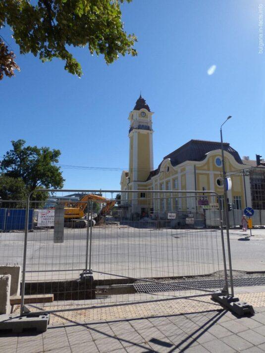 Реконструкция автовокзала в Бургасе