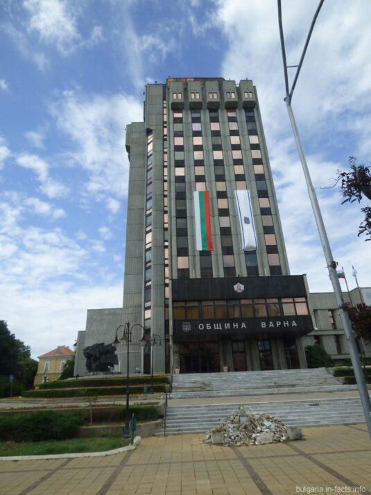 Здание муниципалитета в Варне