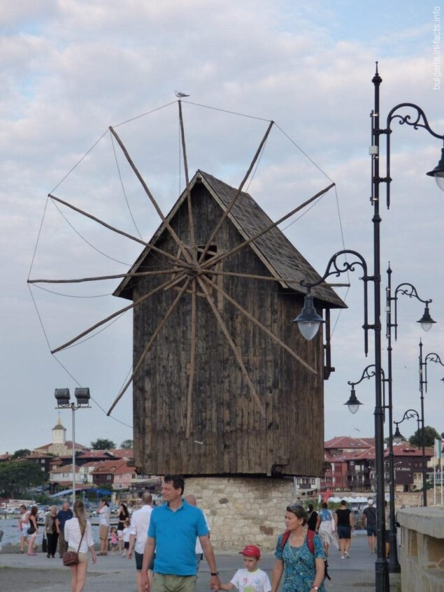 Мельница в Несебре