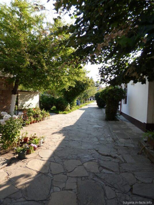 Зелень в монастыре Святого Георгия