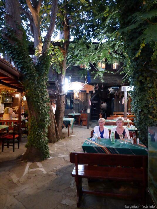 Ресторан в старинномболгарском доме