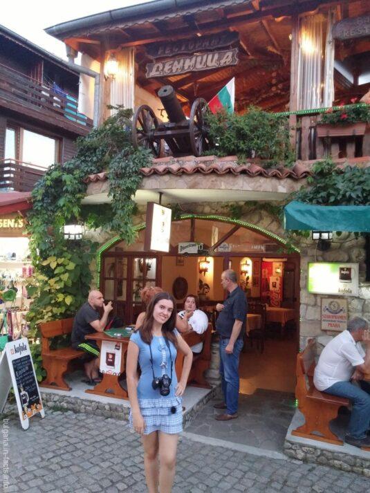 Ресторан в старом Несебре