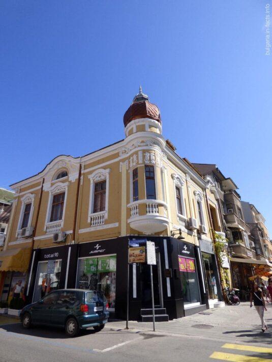 Симпатичные здания в Бургасе