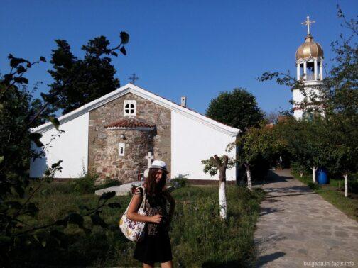 Церковь и колокольня монастыря Святого Георгия