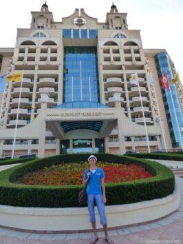 Гостиничный комплекс на территории Помория