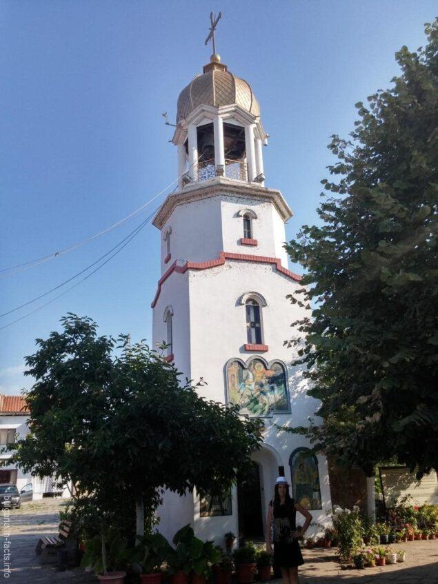 Колокольня монастыря Святого Георгия в Поморие
