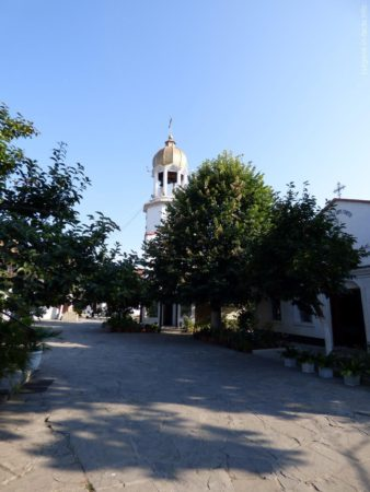 Территория мужского монастыря в Поморие