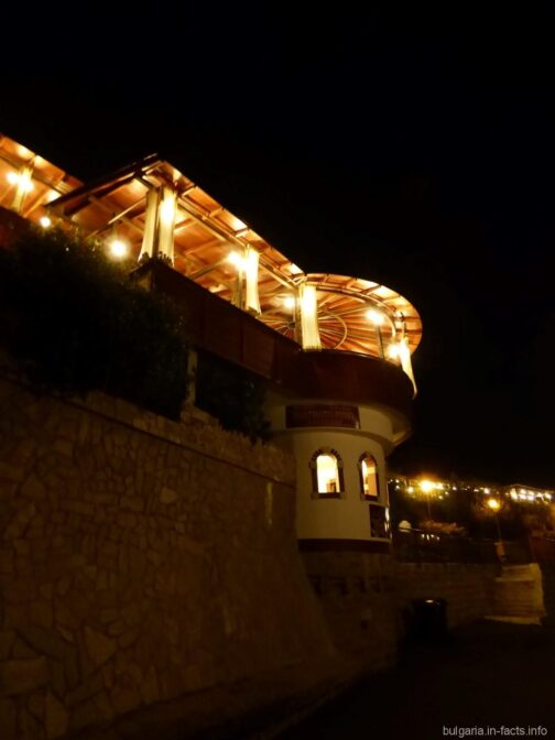Ночные пейзажи в Несебре