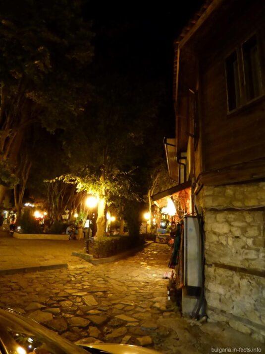 Вечерний пейзаж в Несебре