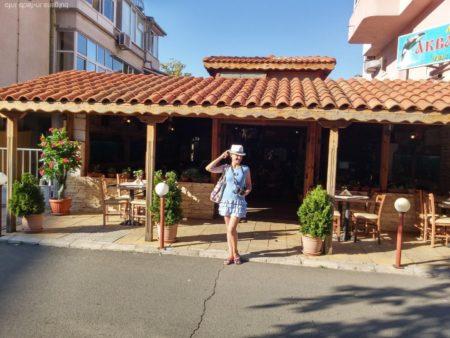 Уютный ресторанчик в Поморие