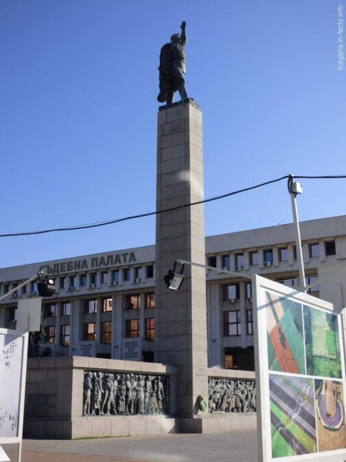 Памятник советскому солдату Алеше в Бургасе