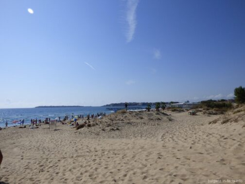 Бескрайние пляжи Солнечного берега