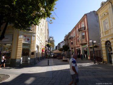 Живописные улочки Бургаса