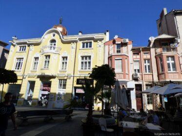 Нарядные дома в Бургасе