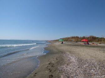 Песок и море в Болгарии