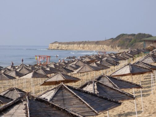 Пляж песчаная дюна в Болгарии