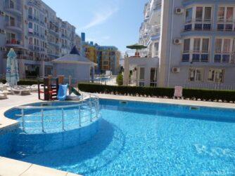 Территория отелей на Солнечном берегу