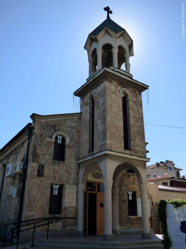 Армянская церковьв Бургасе