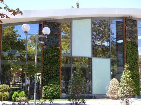 Выставочный зал Приморского парка в Бургасе