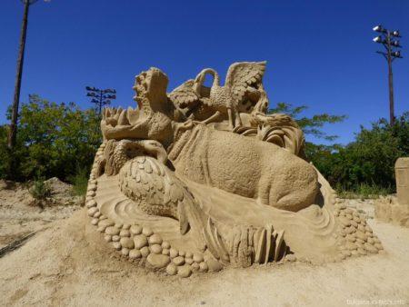 Песчаные шедевры Бургаса