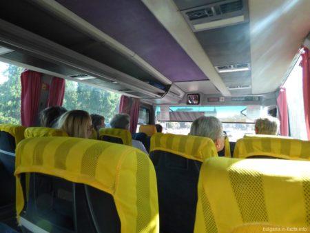 Свободные места в автобусах Болгарии