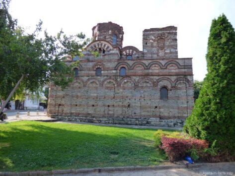 Церковь Христа Пантократа в старом Несебре