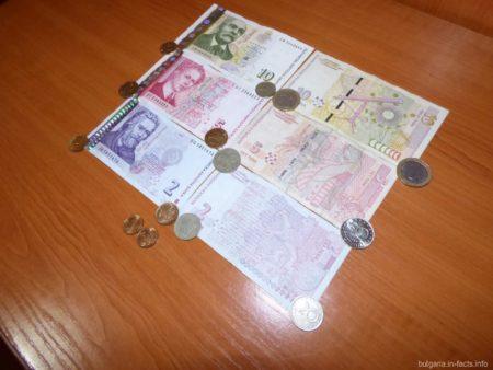 Валюта, что ходит в Болгарии