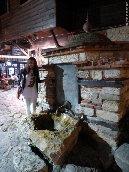 Турецкий фонтан в Несебре