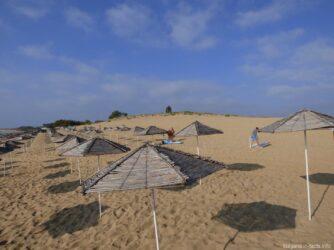 Один из пляже в Несебре